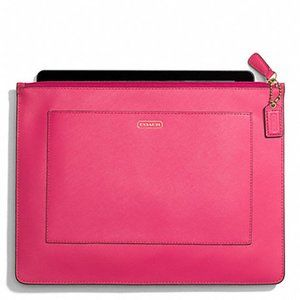 Coach $128 68077 Darcy Leather Large Tech …